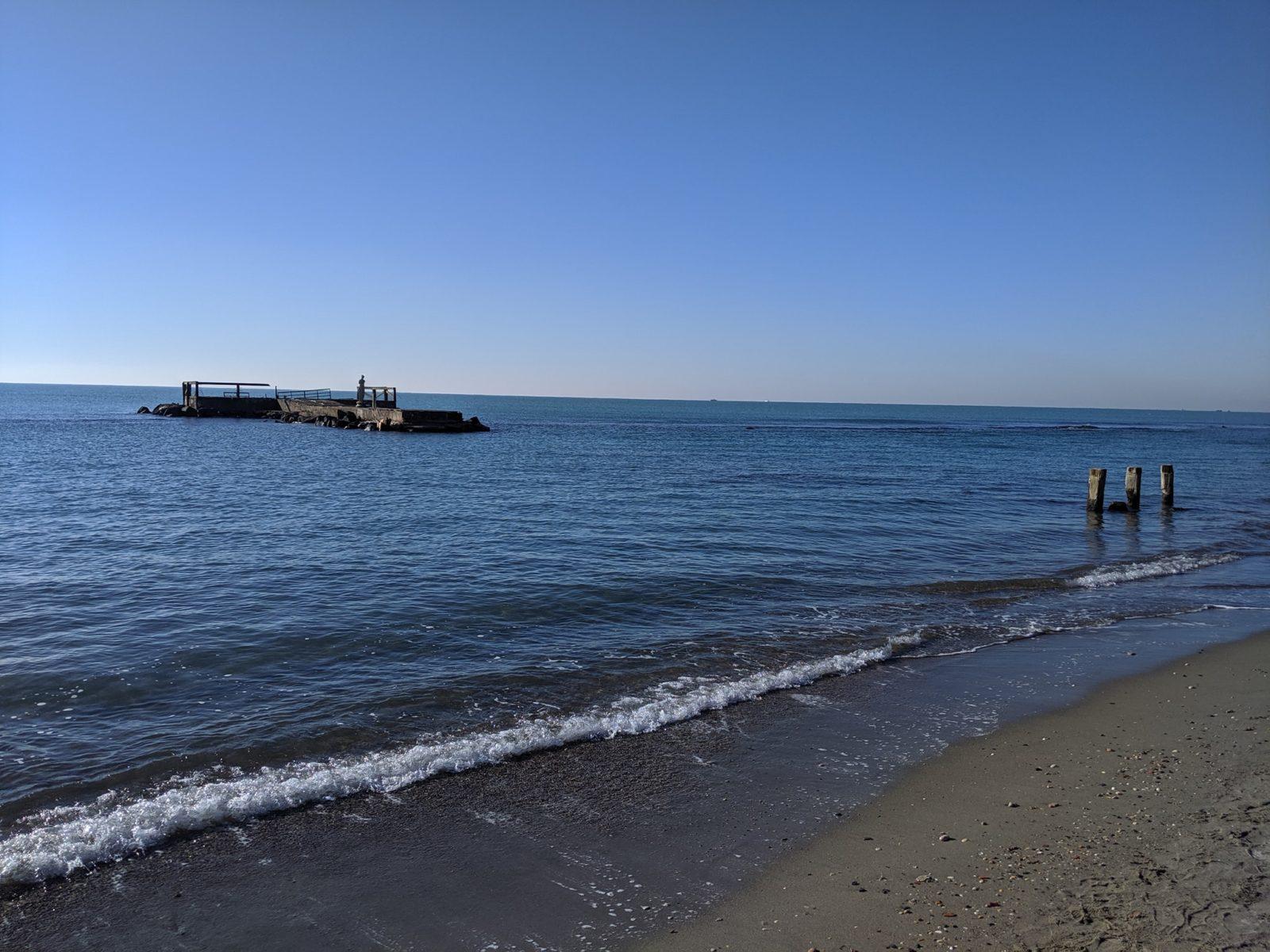 Lido di Ostia (RM) - Pontile dei Pescatori - Foto di Stefania Buoni - 1 gennaio 2020